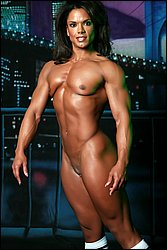 Michelle baker 1  npc bodybuilder michelle baker posing nude. NPC Bodybuilder Michelle Baker Posing Nude
